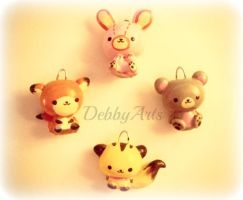 Animals Cute Polymer Clay by DebbyArts