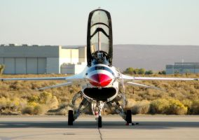 Thunderbird 1 Magnet by jdmimages