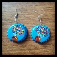 Up house earrings by Aisling-Corcra