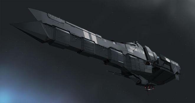 EFSF  Battleship v2.0 by Ivkol