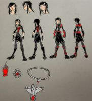 GBA Courtney Keller character ref by StoneMan85