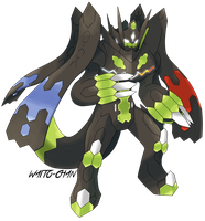 Zygarde Perfecto by Waito-chan