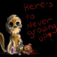 Here's to never growing up by AnimatedSquirrel