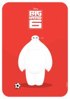 Baymax Vector by funky23