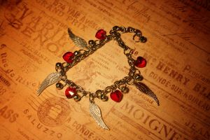 Giving Wings Out Bracelet by turnerstokens