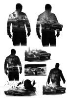 Driver Promo Poster Thumbnails by atomhawk