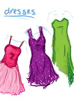 Dresses. by ductXtape