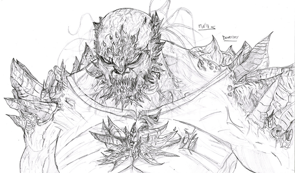 'Your...Doomsday' - Pencils by Soyelmejor999