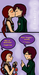 Kiss and Steal: Psychonauts by ammchan
