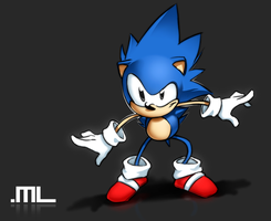 Sonic CD by MLeth
