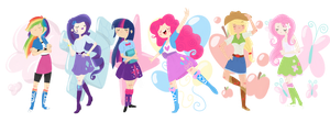 equestria girls by CosmicPonye