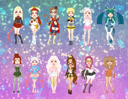 Sailor Chinese Zodiac Doll Collection by cutepiku