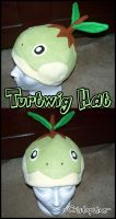 Turtwig Hat by Cristophine