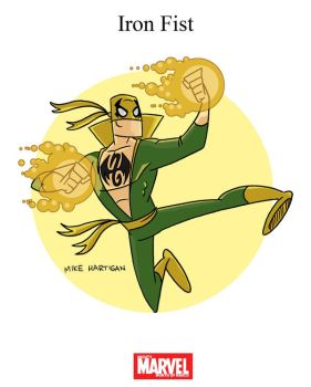 Mighty Marvel Month of March - Iron Fist by tyrannus