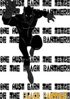 Black Panther by blindfaith311