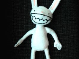 Max plush from Sam and Max by mostlymade