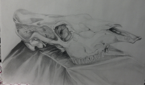 Drawing Class: Cow Skull by AnnaNM