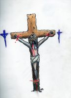 Crucifixion by ConfusedBi