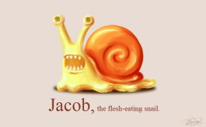 JACOB:the-flesh-eating-snail by arseniic