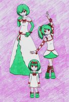 From Ralts To Gardevoir by GoblinPrincess