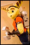 Ratchet and Clank Cosplay by Peanut789
