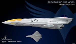 CoM Republic VF21 Stinger Fighter by Galen82