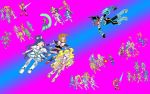Pretty Cure All Star vs Mega Man 2013 by isaacyeap