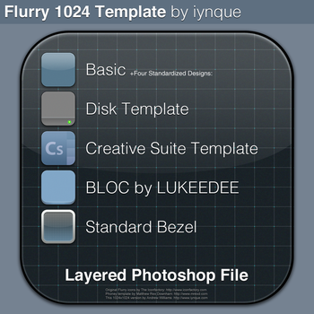 Flurry Template 1024 by iynque