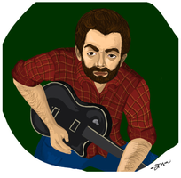 Guitar by MickEMac