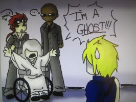 Rufus Is A Ghost by hanyou-cat