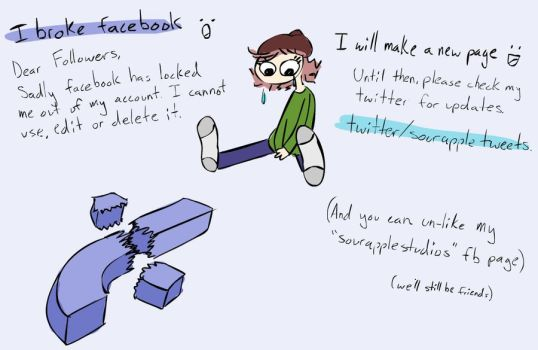 If you followed me on facebook... by Sour-Apple-Studios