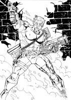 artJAM: Cable by wansworld
