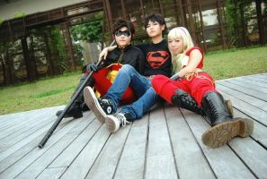 Teen Titans - Young Trinity by fuuyukida