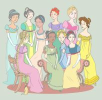 Regency Princesses by MissSmish