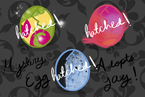:CLOSED:Mystery Egg Adopts:CLOSED: by equinepalette