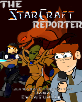 The StarCraft Reporter Poster by Wronchi