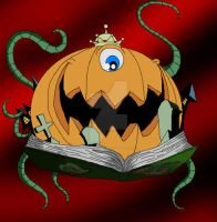 Pumpking the King of Toons by PlayboyVampire