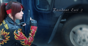 More than a nightmare - Claire Redfield cosplay by Vicky-Redfield