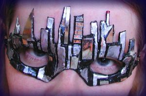 Cityscape Mask by Namingway