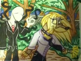 Jane and the Slender man... by 932-2063