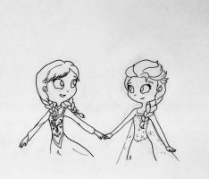Collab: Come with me Elsa! by Lovely-Tsandy