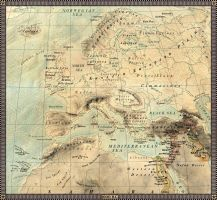 Europe in 1000 B.C. by JaySimons