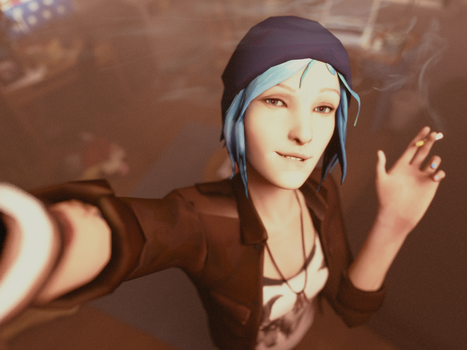 Chloe Selfie by blues-man