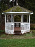Gazeebo - front tall view by JensStockCollection