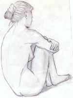Woman waiting by libranchylde