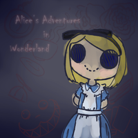 Alice's Adventures in Wonderland by chichinana