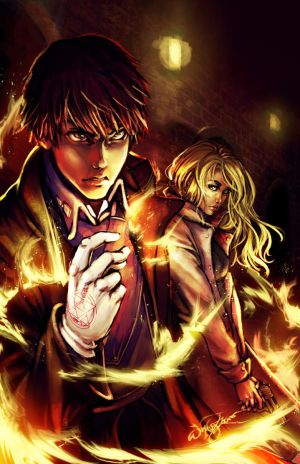 OH SNAP- The Flame Alchemist by DreamerWhit