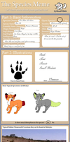 Rose Foxes (Free Open Species) by The-Kitten-In-Chains