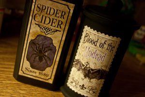Spiders, And Bats And Bottles Oh My by Pokemon-Chick-1