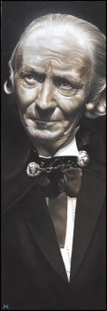 Doctor Who  -  The 1st Doctor by caldwellart